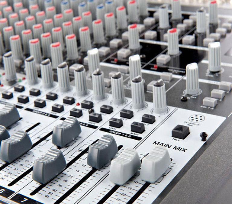 میکس صدا - میکسر سخت افزاری